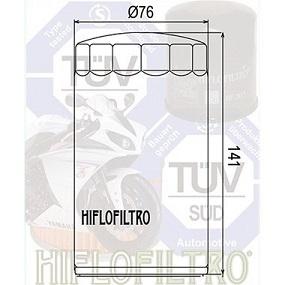 HF173C Hi-Flo Oljefilter H-D (27034)