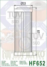 HF652 Hi-Flo Oljefilter (27062)