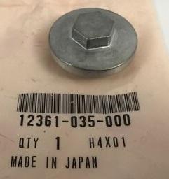 12361-035-000  Honda oljeplugg till Kardan GL1000-1100-1200-