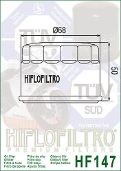 HF147 Hi-Flo Oljefilter (5DM-13440-00, 5VK-E4451-00)