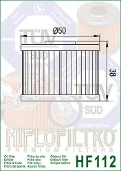 3088036 Oljefilter Polaris = Ersätts av HF112 Oljefilter MC