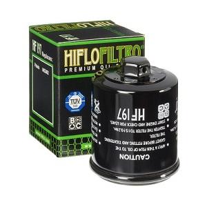 0452462, 2520724 Oljefilter Polaris = Ersätts av HF197 Oljefilter MC