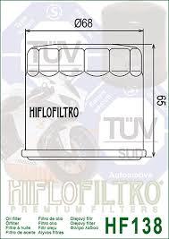 HF138C Oljefilter Crome Hi-Flo