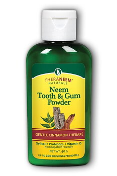 NEEM TEETH & GUM POWDER Kanel & Kardemumma