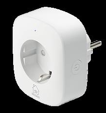 Deltaco Smart Home strömbrytare, WiFi 2,4GHz, energiövervakning, timer