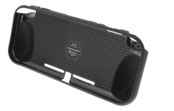 Deltaco Gaming Nintendo Switch Lite Cover, skal med stativfunktion, svart