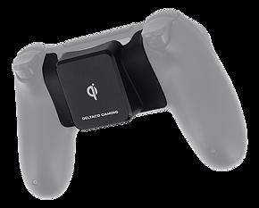 Deltaco Gaming mottagare för trådlös laddning till PS4 kontroll, Qi-certifierad