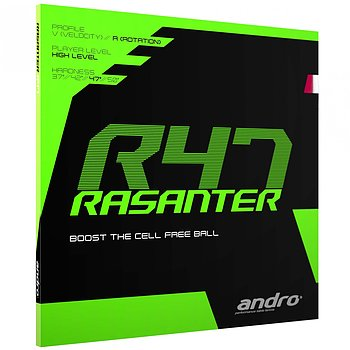 Andro rubber Rasanter R 47
