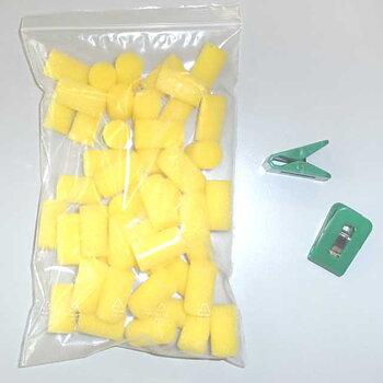 Joola limsvampar inkl. klämmor, 50 pack