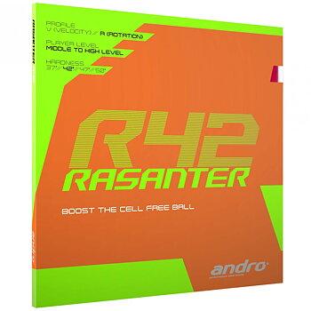 Andro rubber Rasanter R 42