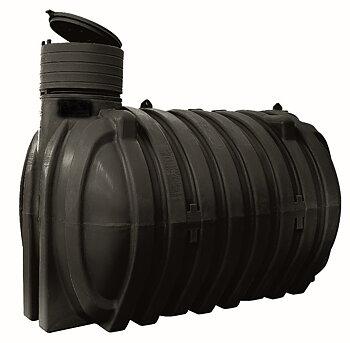 Sluten tank CU- 10 000 liter livsmedelsgodkänd