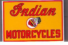 Indian logo kylskåpsmagnet