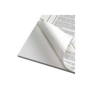 Foamboard 5 mm, vit självhäftande