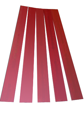 Corta/Dürselen drill pad - 20x5x450 mm - 10/pck