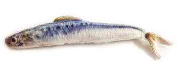 Kattleksak Makrill 13 cm