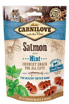 Carnilove kattgodis Crunchy Salmon & Mint