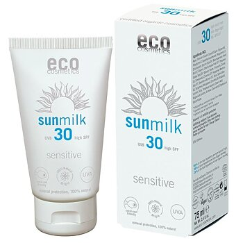 Sun Milk SPF 30 Sensitive 75ml - Eco Cosmetics