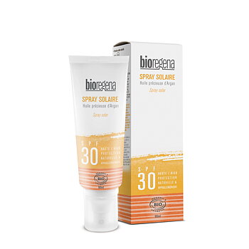 Solskydd spray Spf 30  Body & face- Bioregena