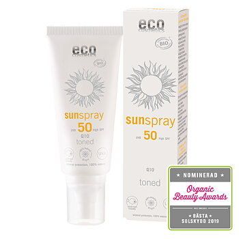 Solspray Toned Q10 SPF 50 100ml  - Eco cosmetics