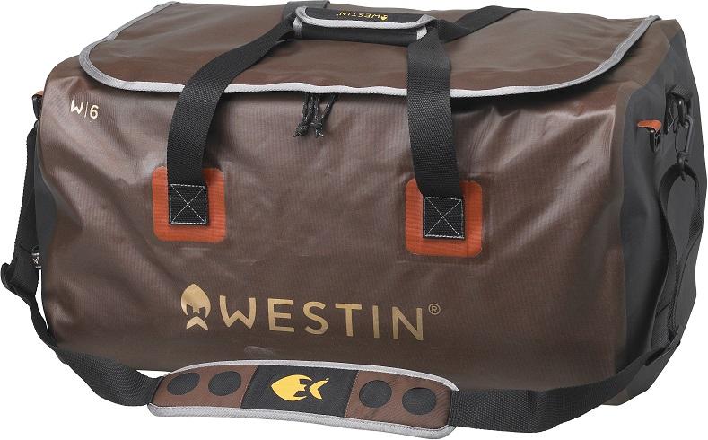 Westin W6 Boat Lurebag Gr.L Grizzly Brown Black Tasche