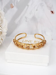 Armband Elena Light Colorado Topaz  Gold
