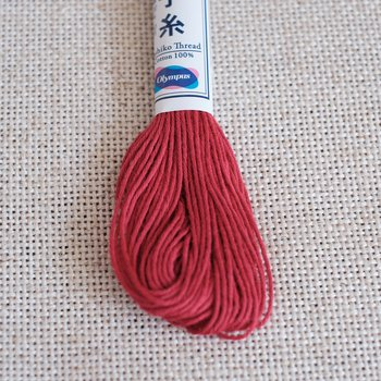 Sashiko thread - Red 12