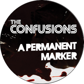 THE CONFUSIONS - Knapp (liten)