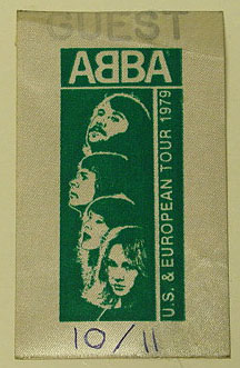 ABBA - Backstage pass 1979