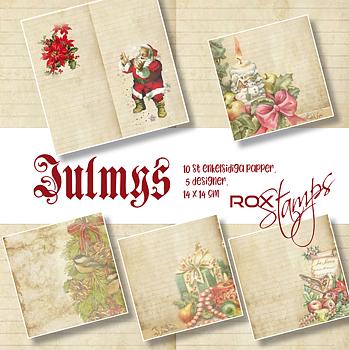 ROX Stamps - julpapper 2020 -Julmys