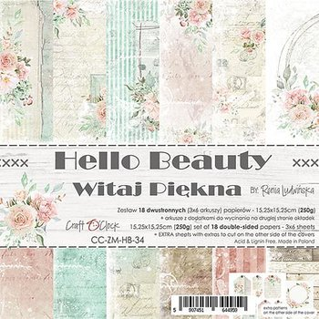Craft O´ Clock -  Hello Beauty - 6x6""