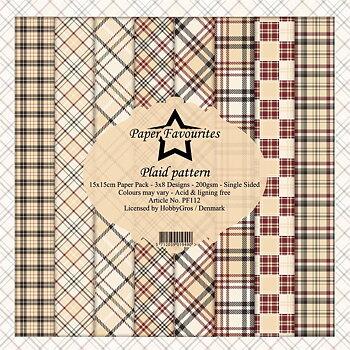 """Paper Favourites - Plaid Pattern 6x6"""""""