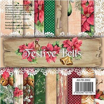 """Altair Art - Festive Bells 6x6"""""""