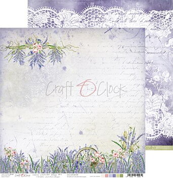 Craft O´ Clock - Lavender Bliss - 04