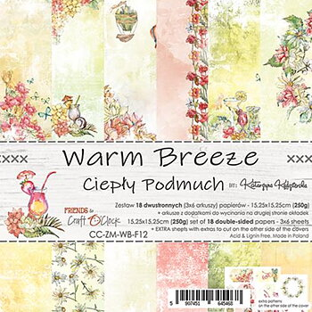 Craft O´ Clock -  warm brezze - 6x6""