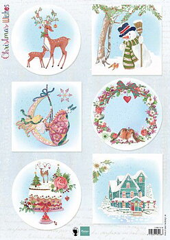 Marianne Design - Klippark- christmas wishes EWK1280