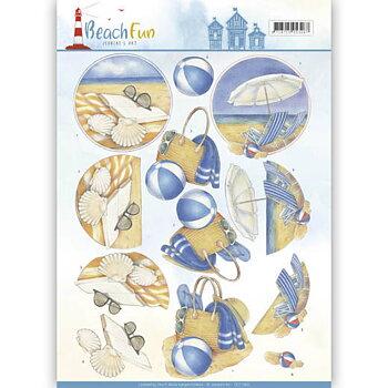 Jeanines Art - Klippark -Beach fun 69