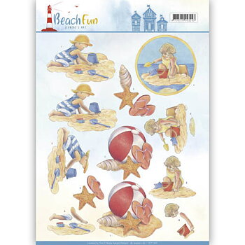 Jeanines Art - Klippark -Beach fun 67