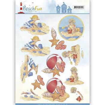 Jeanines Art - Klippark -Beach fun 67