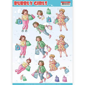 Yvonne Creations - Klippark -bubbly girls 07