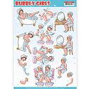 Yvonne Creations - Klippark -bubbly girls 06