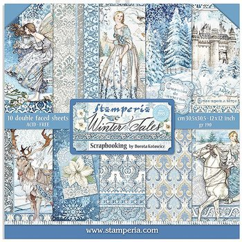 Stamperia - winter tales  -12x12""