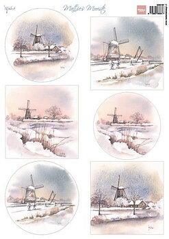 Marianne Design - Klippark- windmills