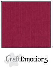 Cardstock - Linen -bordeaux  10-pack