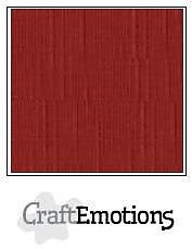 Cardstock - Linen -dark red  10-pack