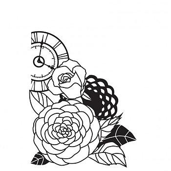 Kaiser craft - embossingfolder - floral cluster