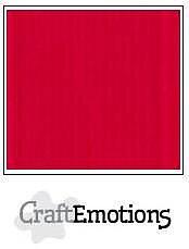 Cardstock - Linen -scarlet 10-pack