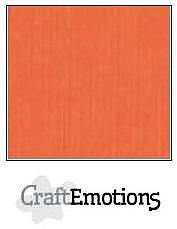 Cardstock - Linen  orange10-pack