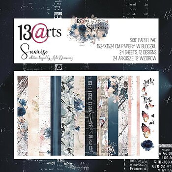 "13@rts -paperpad - sunrise 6x6"""