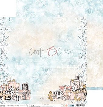 Craft a Clock  - Frosty Sparkling - 02