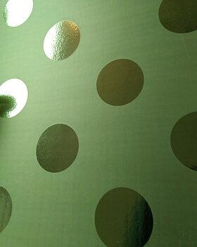 """Joy - """"kartong"""" - grönt med större prickar"""